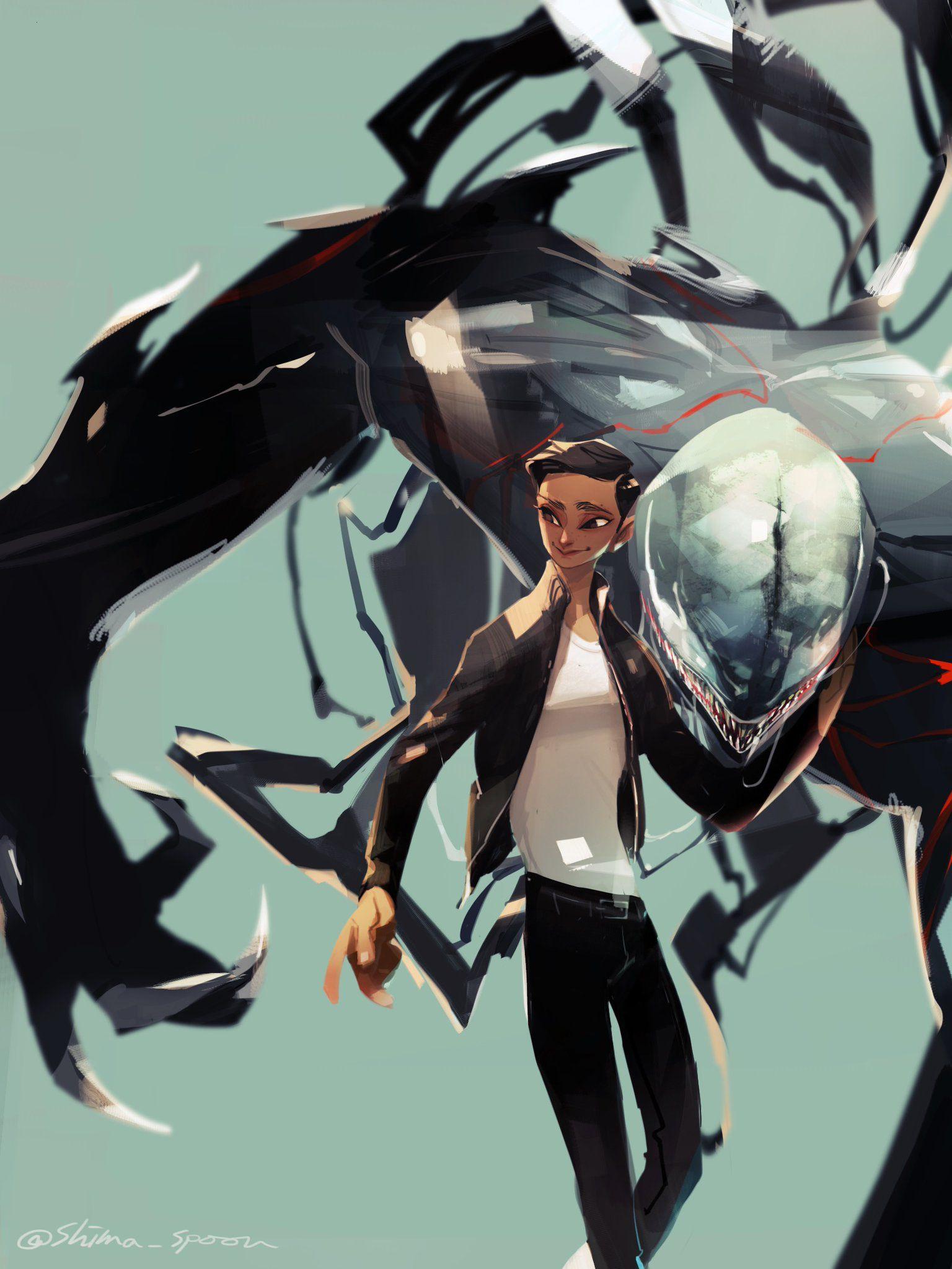 Venom by Fianto Kargono   Superhero art, Venom, Comic art