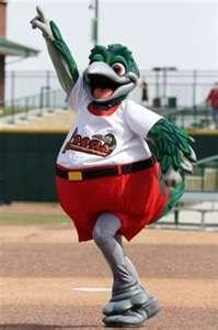 Great Lake Loons Baseball mascot  Lou-E-Loon