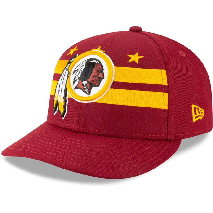 premium selection 5fa40 ef502 Washington Redskins New Era 2019 NFL Draft On-Stage Official Low Profile  59FIFTY Fitted Hat – Burgundy, Your Price   37.99