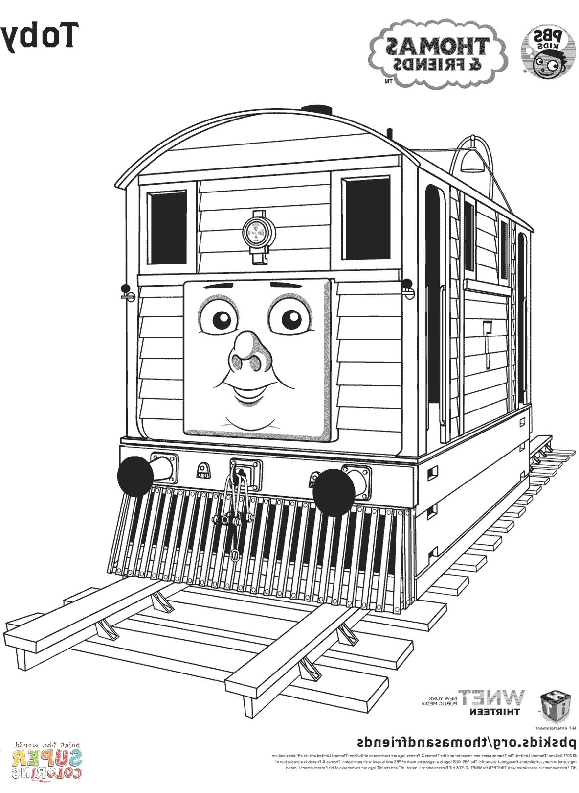 Thomas And Friends Coloring