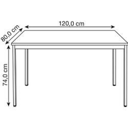 Photo of Maple multipurpose table rectangular