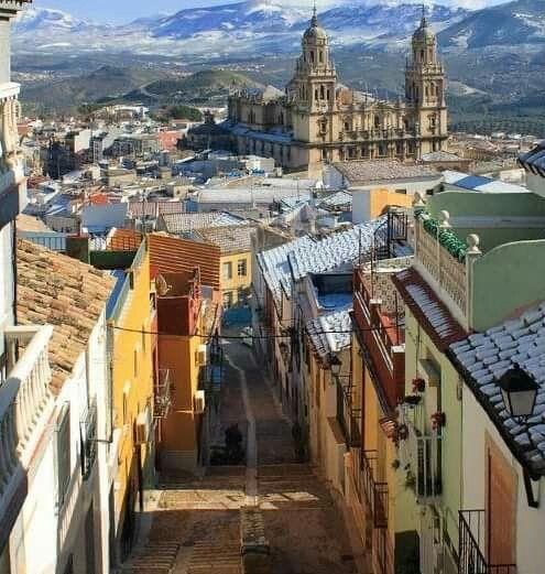 Bonita fotografía desde la zona alta y antigua de la ciudad