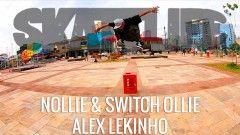 Nollie & Switch Ollie | Tutorial #SKATELIFE | Alex Lekinho - http://DAILYSKATETUBE.COM/nollie-switch-ollie-tutorial-skatelife-alex-lekinho/ - http://www.youtube.com/watch?v=JxMhHXCuwV0&feature=youtube_gdata  Nollie & Switch Ollie | Tutorial #SKATELIFE | Alex Lekinho Nesse tutorial do canal Skatelife o skatista Alex Lekinho dá dicas do nollie e switch ollie. Mesmo... - alex, lekinho, nollie, ollie, skatelife, switch, tutorial