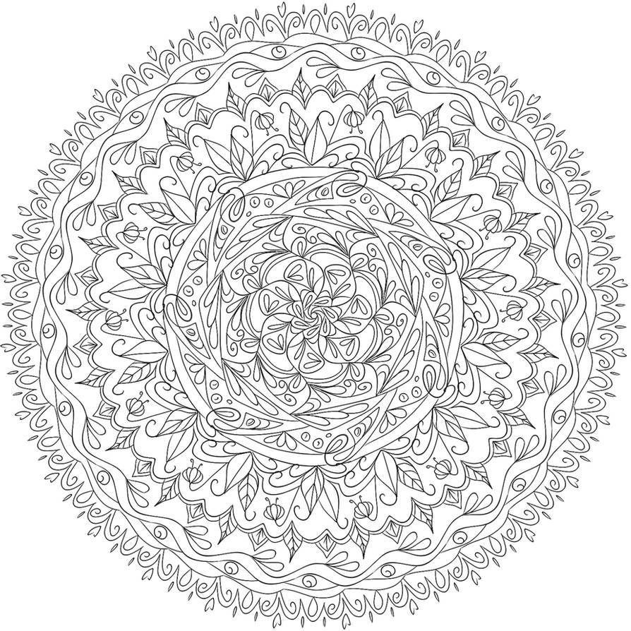 Photo of Krita Mandala 10 par www.deviantart.co … sur @DeviantArt Uni