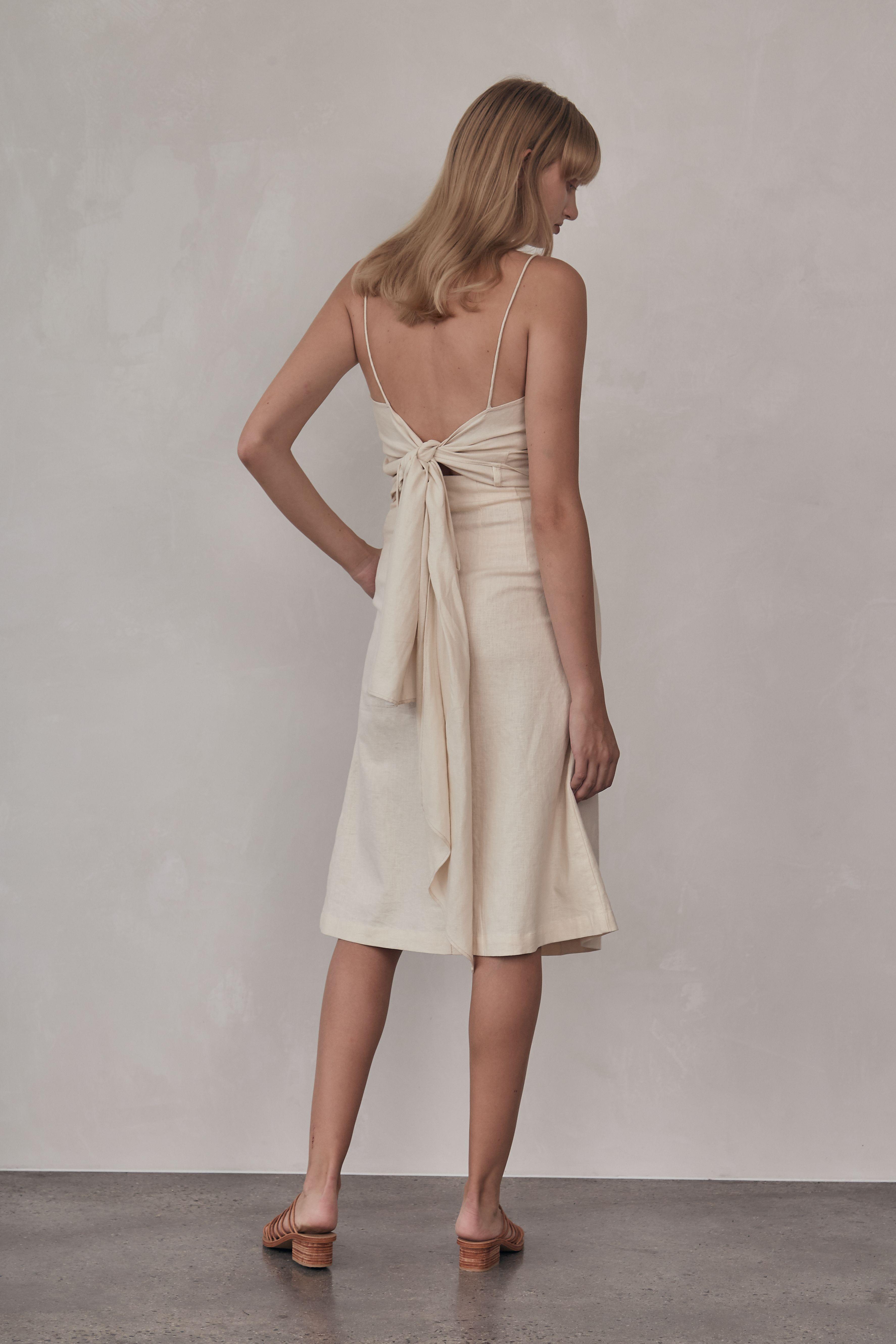 Mel Skirt - Vintage White
