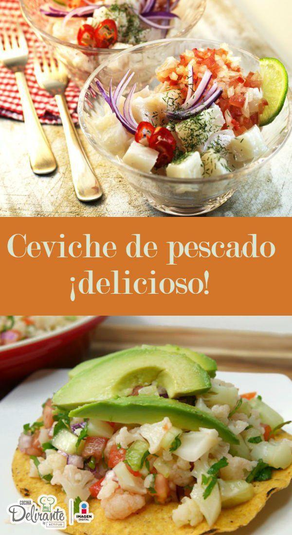 Ceviche de pescado para comer en tostadas latin food recipes ceviche de pescado para comer en tostadas latin food recipes latin food and ceviche forumfinder Choice Image
