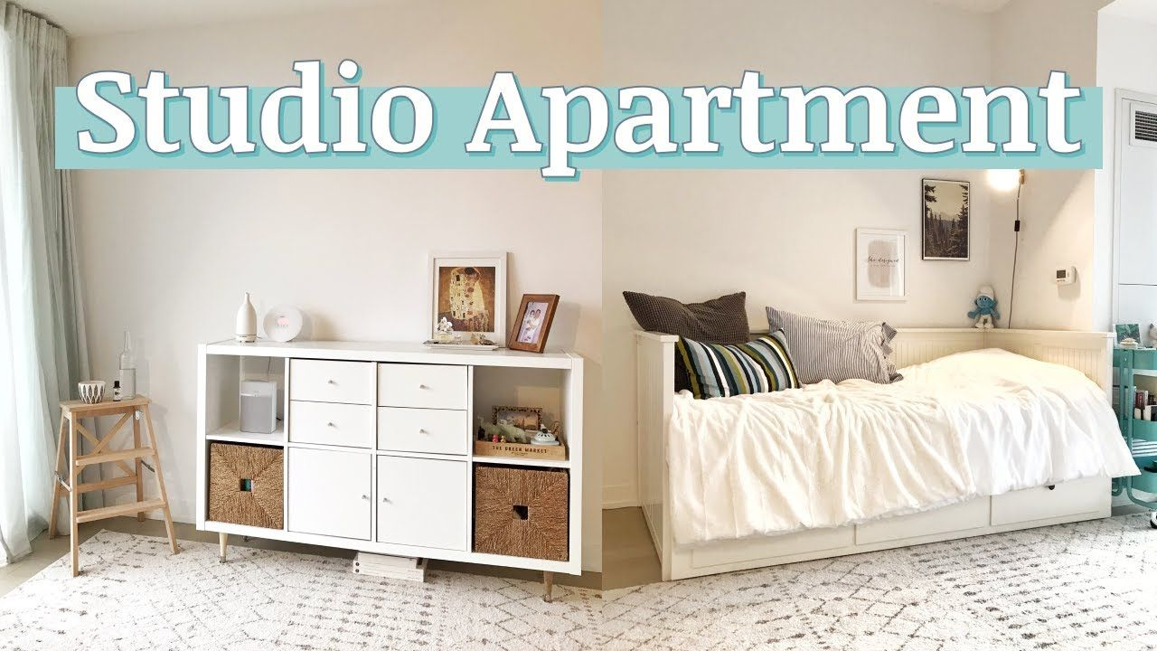Studio Apartment Tour 2019 430 Sqft In 2020 Minimalist Studio Apartment Studio Apartment Apartment Tour