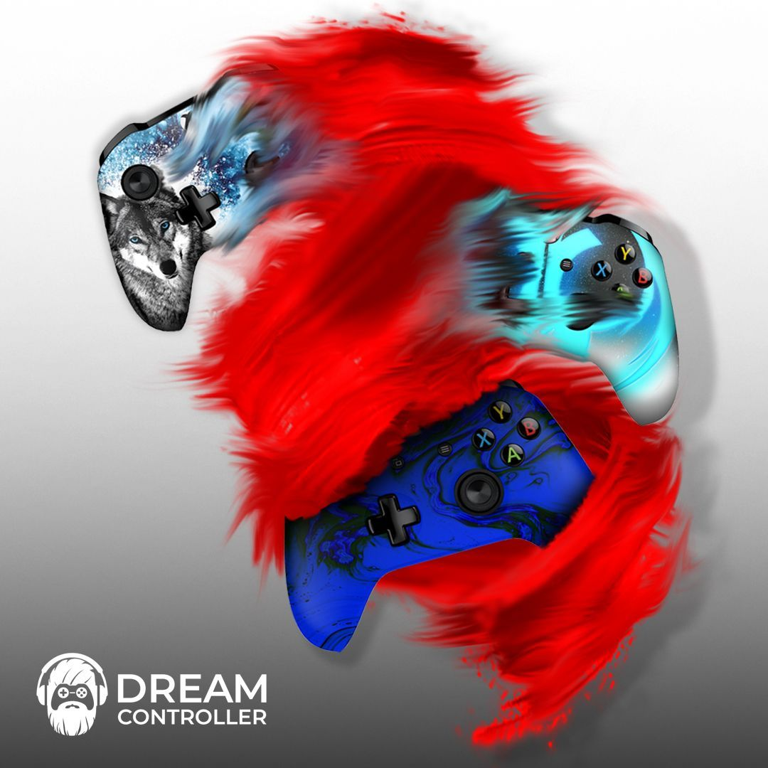 We have a ton of designs for ps4 and xbox one controllers