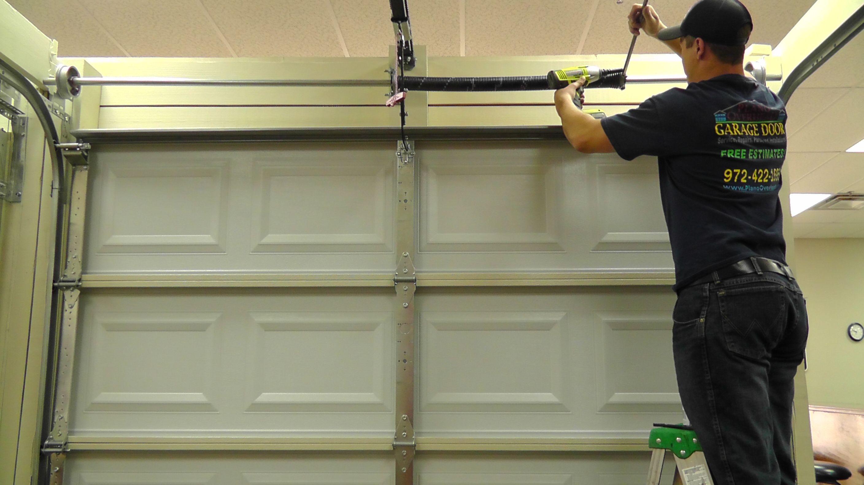 Pin by Plano Overhead Garage Door on Garage Door Spring ... on Overhead Garage Door Spring Replacement  id=58138