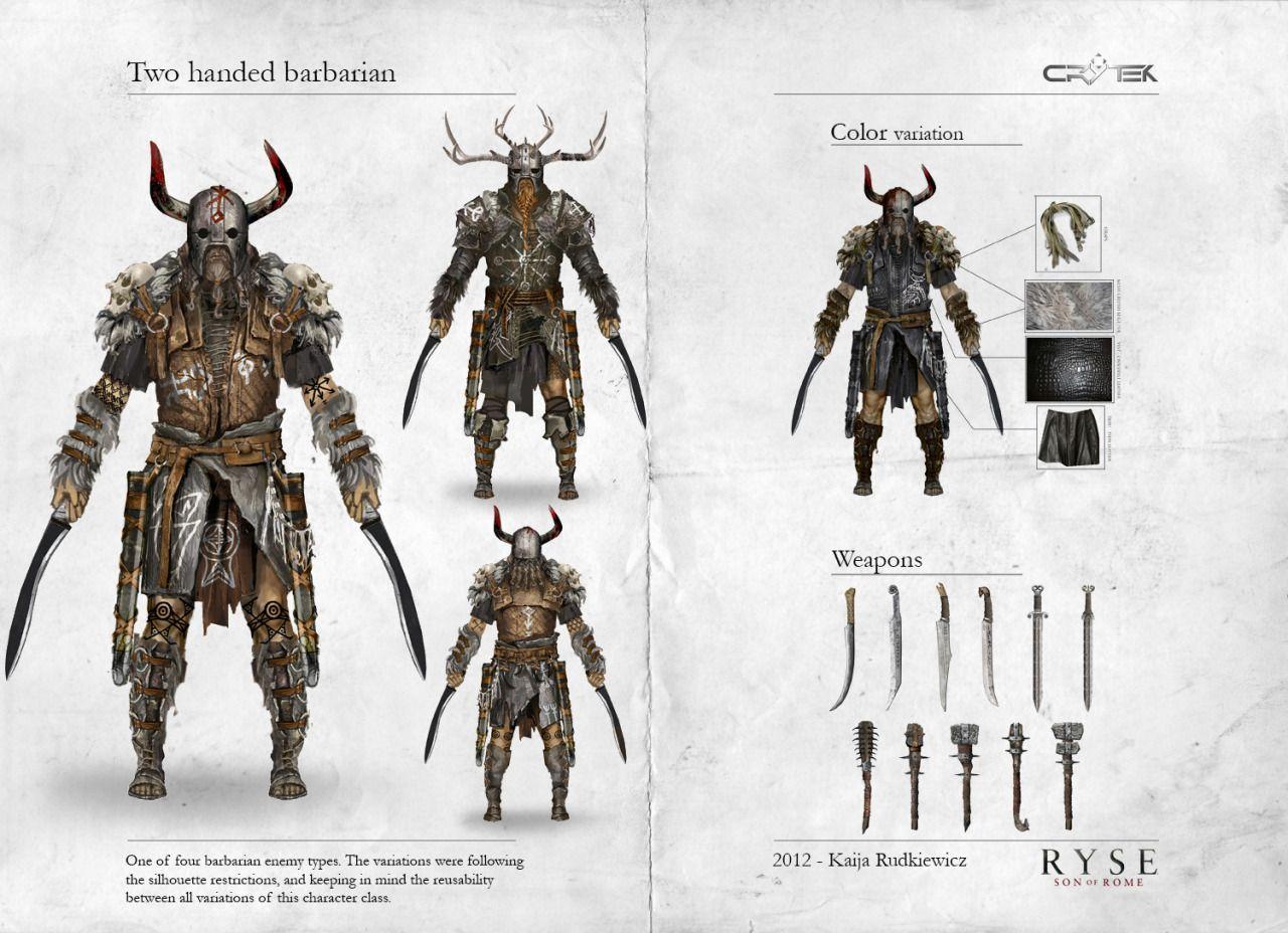 aprendizdemucho:  Ryse: Son of Rome Character Concept Art by Kaija Rudkiewicz