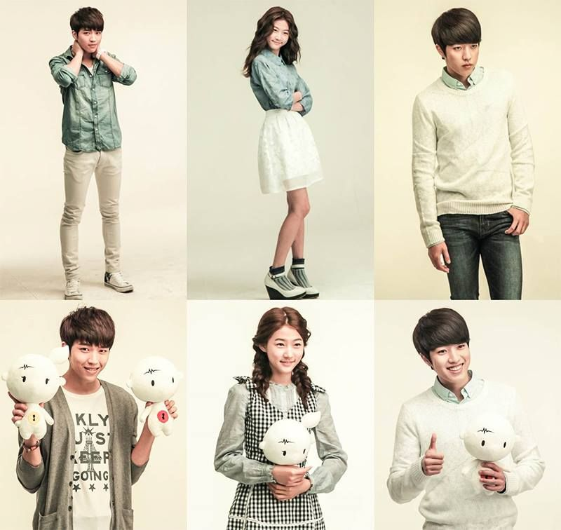 first look kim sae ron nam woo hyun and lee sung yeol
