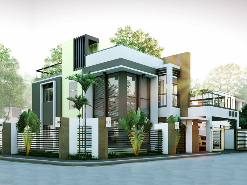 Modern house designs series mhd 2014010 pinoy eplans for Eplans modern homes