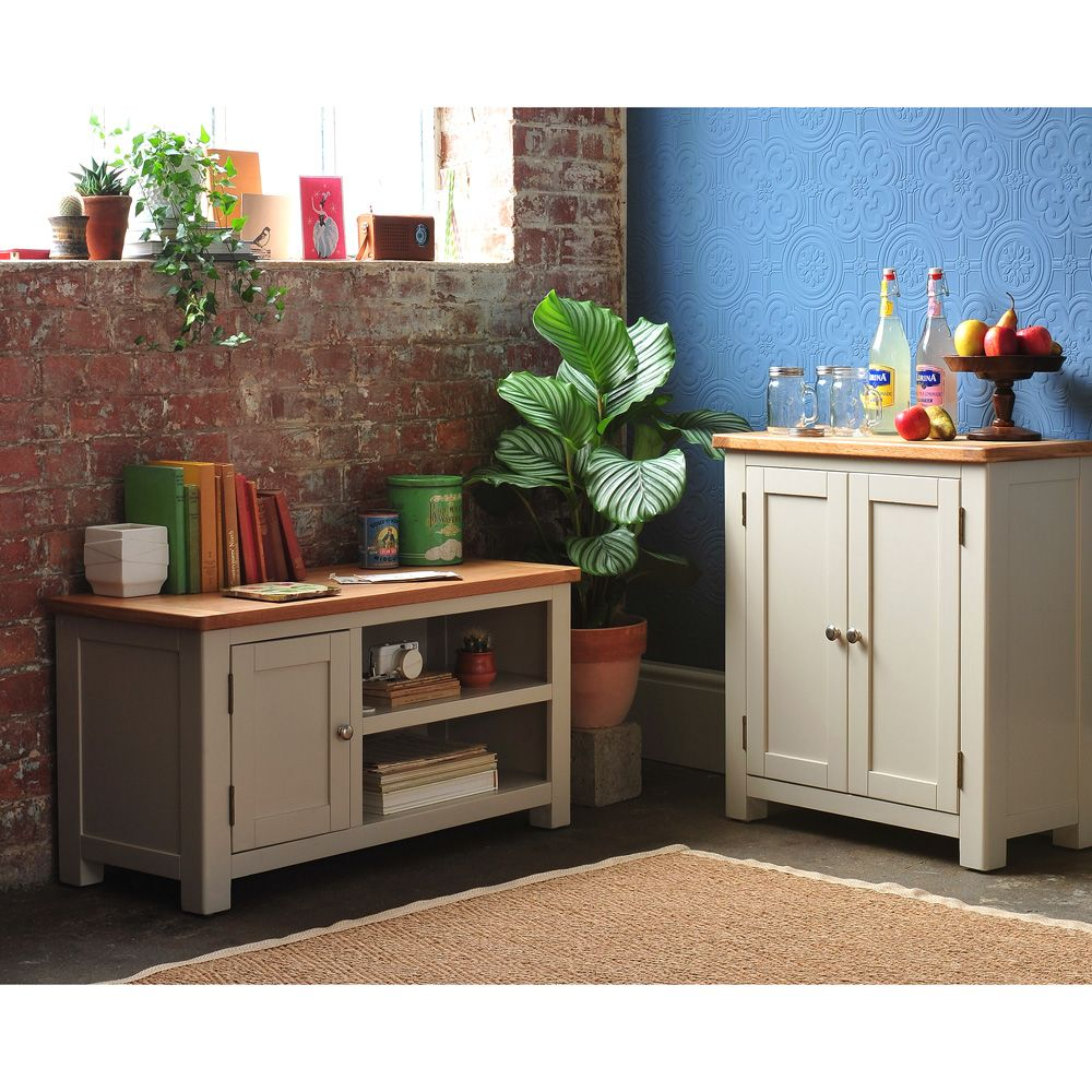 Lundy Stone Grey 2 Door Cabinet with Free Delivery from ...