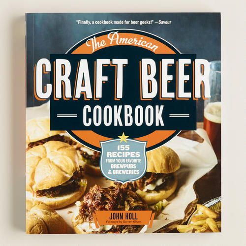 """The American Craft Beer Cookbook"" is an informative guide to the best brewpub foods to enjoy with your favorite brews. Award winning beer journalist John Holl collects over 150 delicious recipes from breweries across the United States. Explore the craft brew revolution and learn to make crawfish bordelaise, roasted pheasant, beermosas and much more, including vegetarian and gluten-free options."