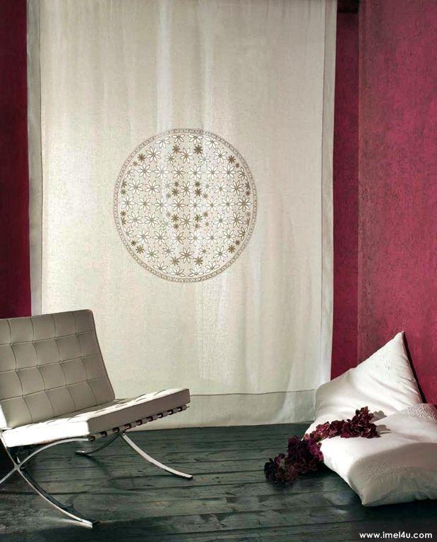 Tende: il dettaglio che fa la differenza! www.imel4u.com #tendaggi #madeinItaly #arredamento #casa