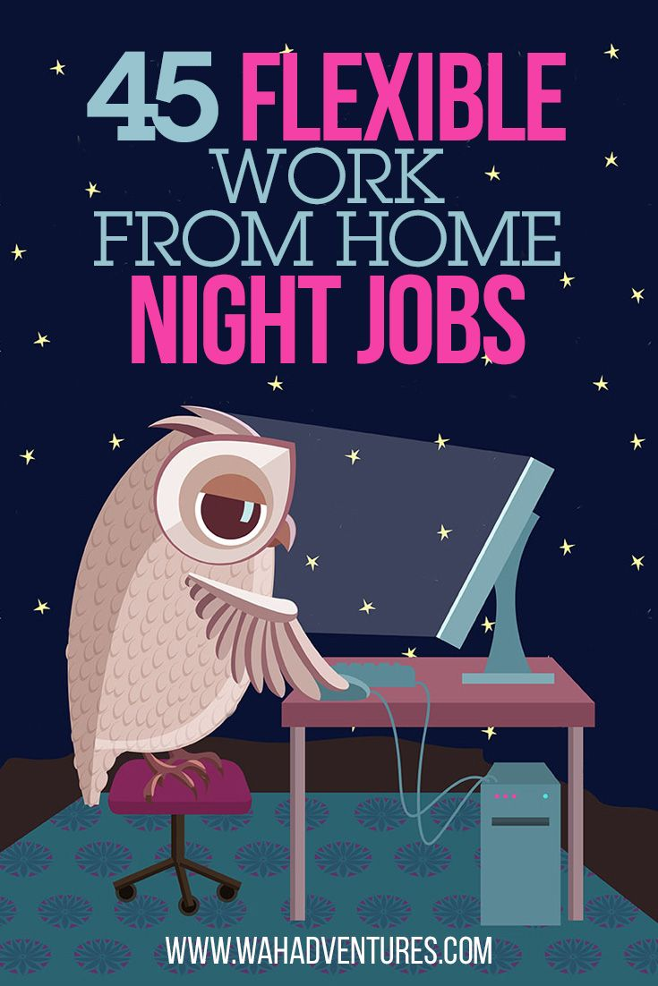 76 Work From Home Part Time And Full Time Night Shift Jobs Night Jobs Working From Home Online Work From Home