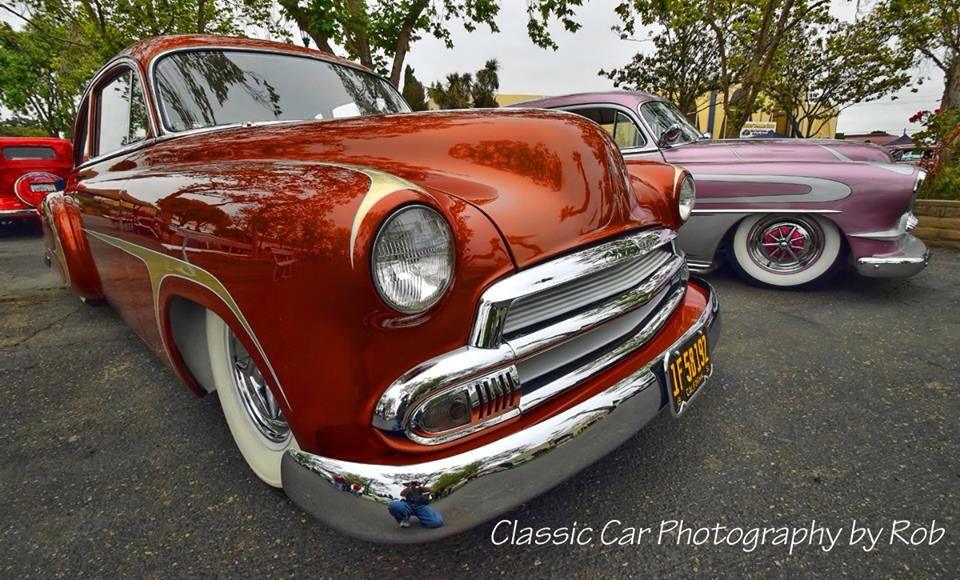 1951 Chevy Deluxe The Copper Car And The Grapevine