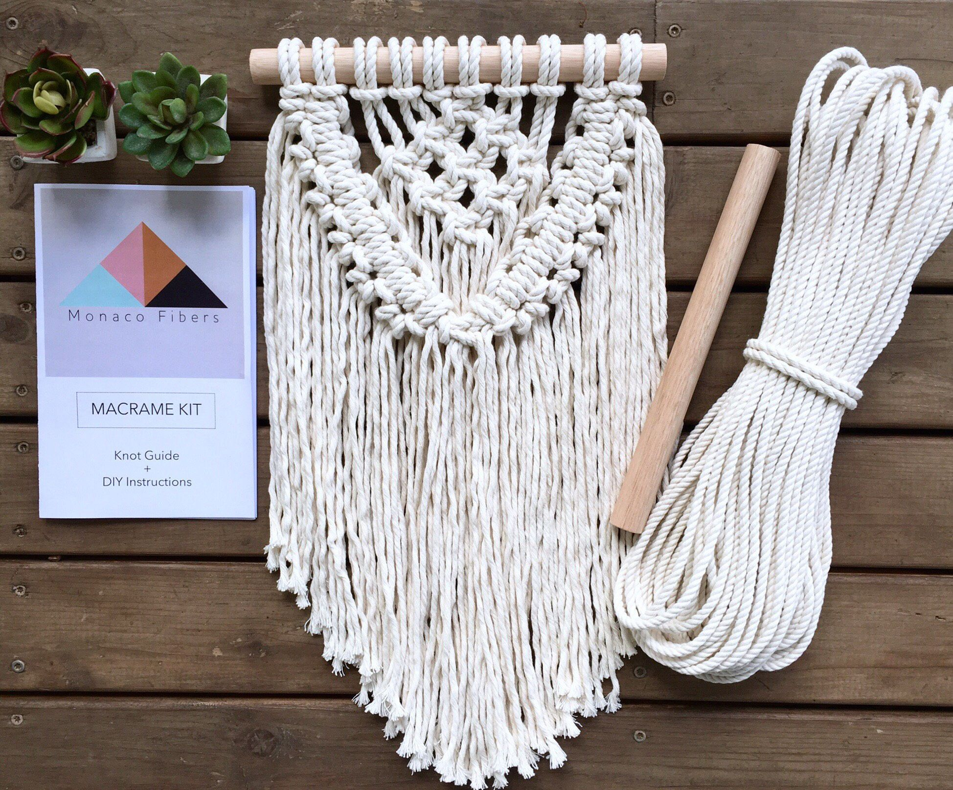 Diy Kit Macrame Kit Free Shipping In Us Macrame Diy