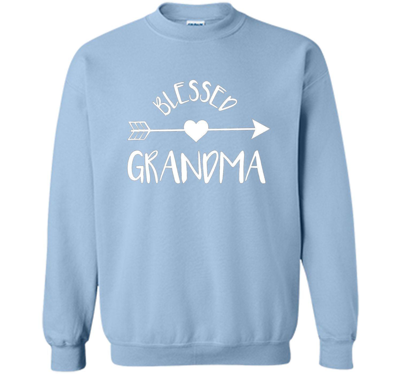 Blessed Grandma Shirt, Cute Tribal Arrow and Heart Gran Gift
