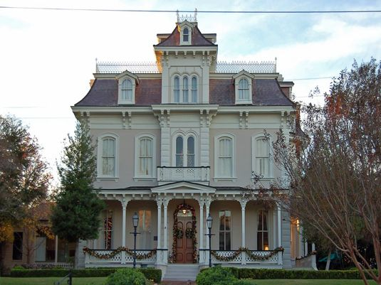 Natchez house mississippi second empire house plans and for Historic second empire house plans