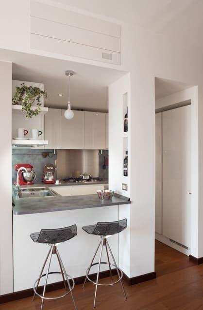 Idee Architettura Interni Casa.Casa Dp 2 Cucina In Stile Di Gk Architetti Carlo Andrea