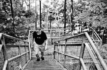 Do the Steeltown stomp -- up 1,874 steps