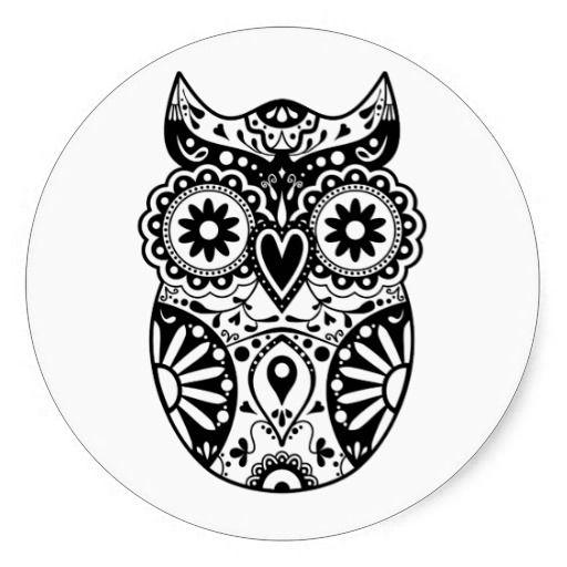 day of the dead owl tattoo ideas pinterest owl tattoo and tatting