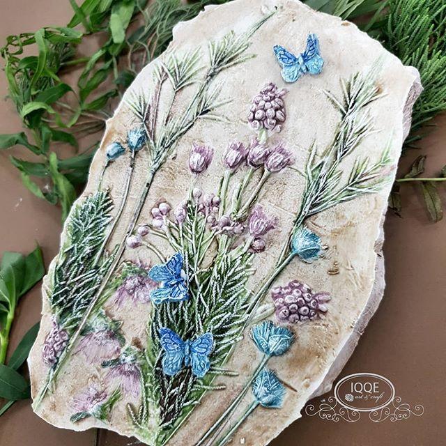 Ike Chandra Rangkuty в Instagram: «Botanical fossil made by @pritzda . . . #botanicalceramics #botanicaltiles #botanicalfossils #botanicalart»