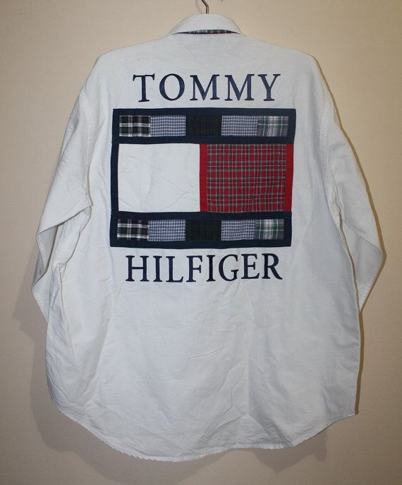 Vintage Tommy Hilfiger Long Sleeve Shirt by ForYourWear on Etsy