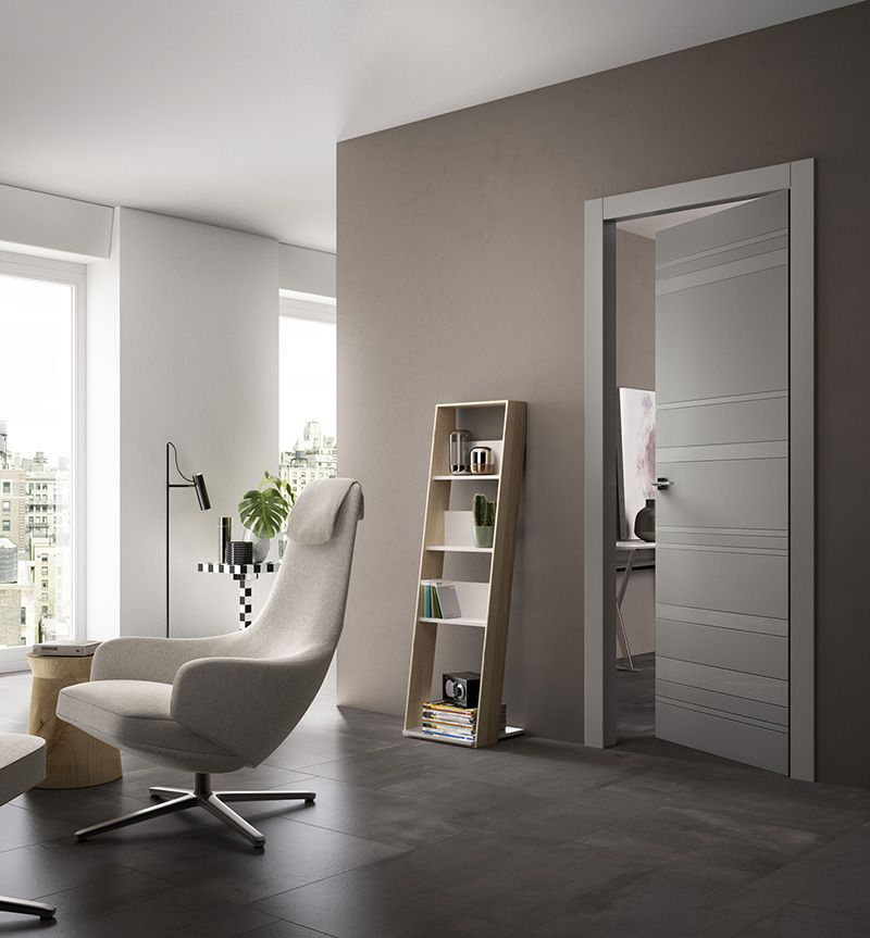 Portes int rieures contemporaines recherche google for Photo porte interieur maison