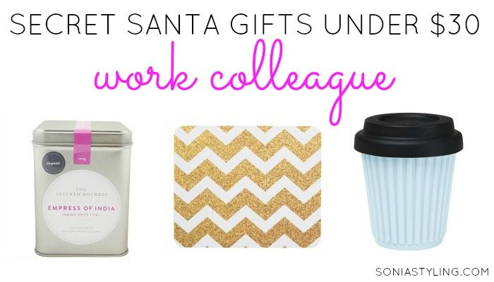 Office christmas gift ideas under 30