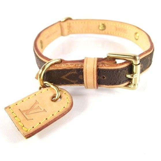 Louis Vuitton Dog Collar Prefect For Our Little Man