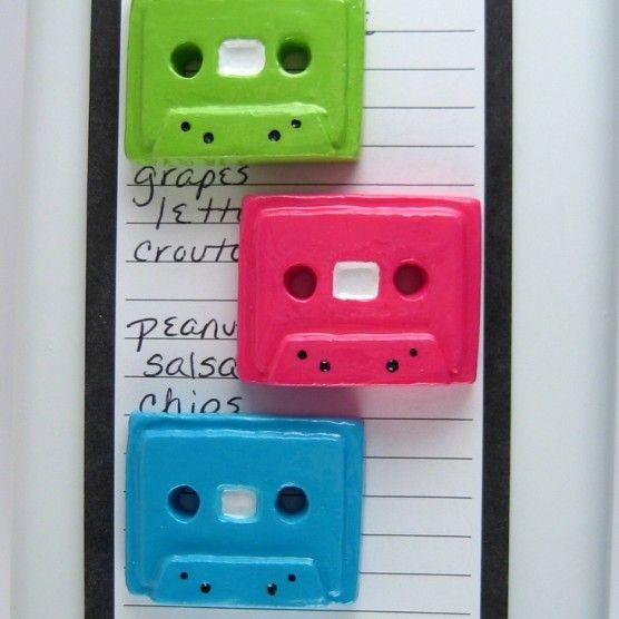 $10.50  Cassette tape magnet