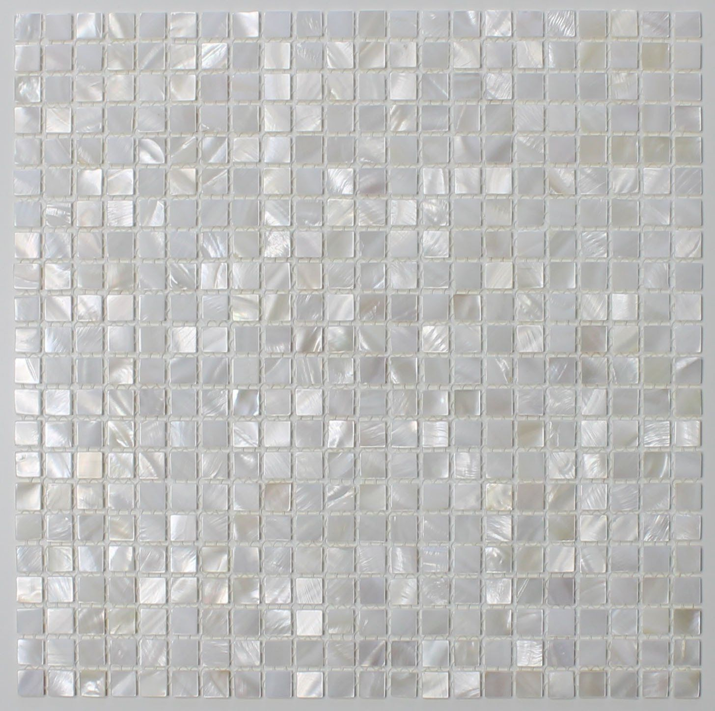 10 Square Feet Mother Of Pearl Oyster White Mini Square Mosaic Tiles Visit The Mosaic Tile Kitchen Mosaic Tile Backsplash Kitchen Kitchen Tiles Backsplash