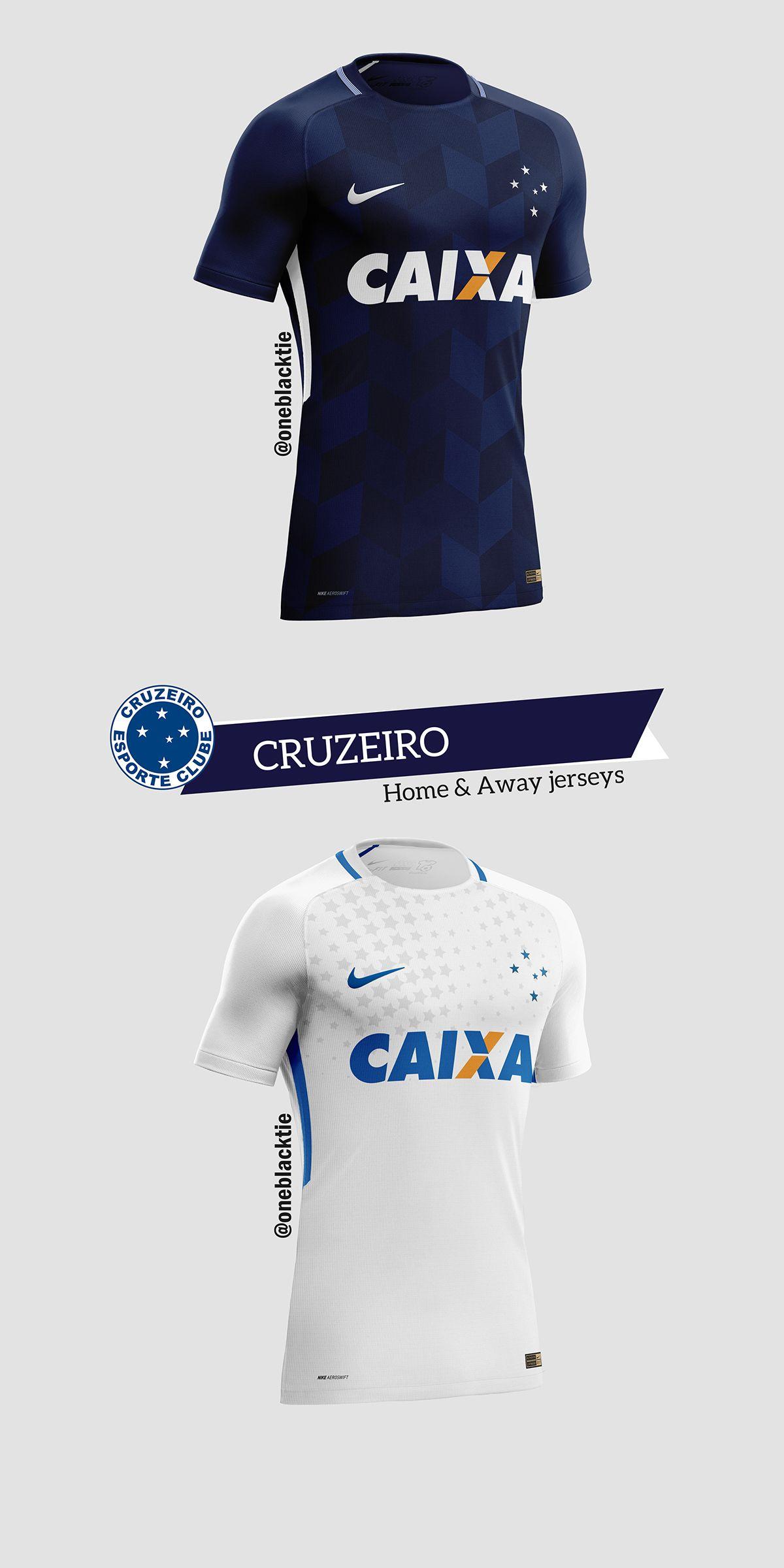 37543aca58 Nike Brasileirão Série A 2017 Concept Jerseys on Behance