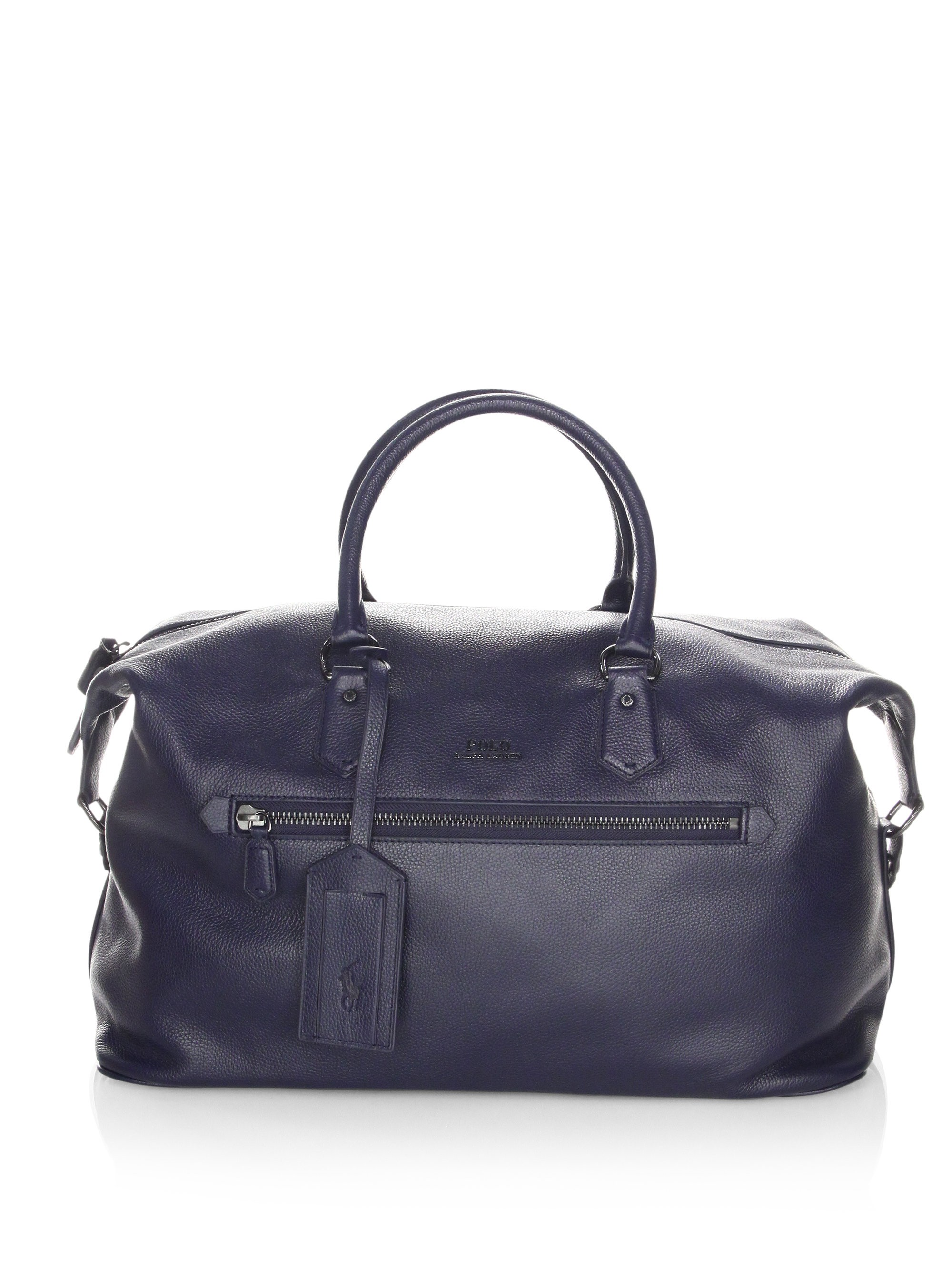 f24c0ccbedb3 Pebbled Leather Duffle Bag by Ralph Lauren | Products | Leather ...