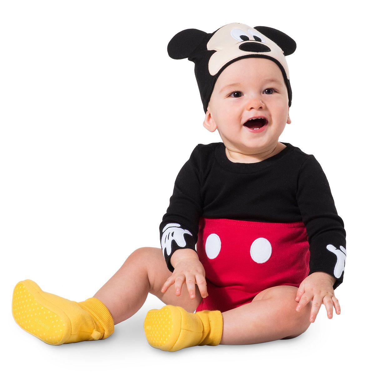 sfumature di design moderno acquista per il più recente Mickey Mouse Costume Bodysuit Set for Baby - Personalizable ...