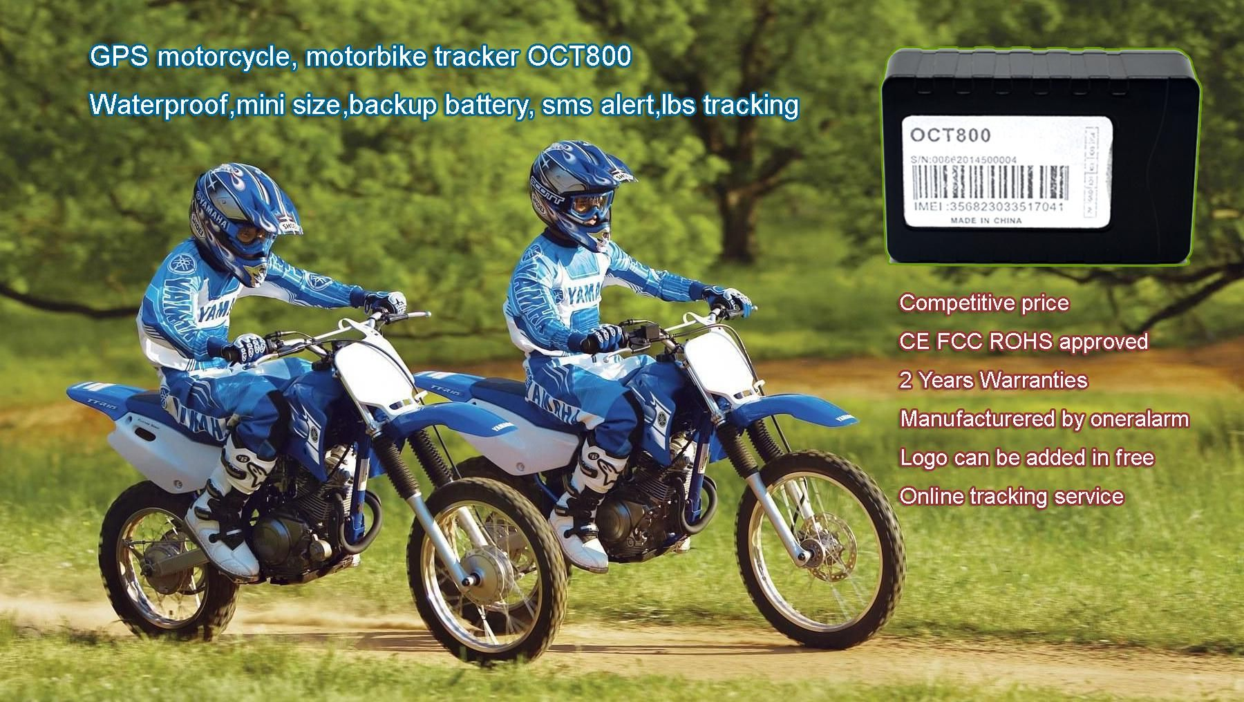 Oct800 The Mini Size Gps Tracker Which With Inbuilt Gps And Gsm Antenna It Is Easy To Hide And Install With The Design Pa Motorbike Tracker Gps Gps Tracker