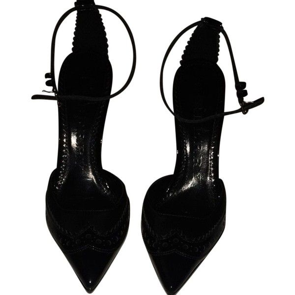 burberry black pumps