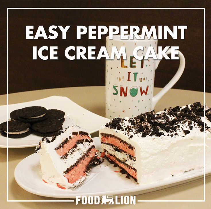 Easy peppermint ice cream sandwich cake recipe easy