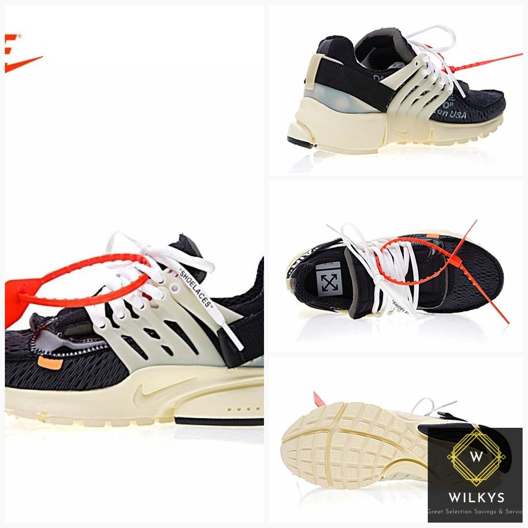 Original New Arrival Authentic Nike Air Presto x Off White Men s Breathable  Running Shoes Sport Outdoor Sneakers AA3830-001  men  Nike  coats  women s   bags ... 1dfb9c100