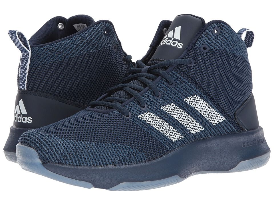 ADIDAS ORIGINALS ADIDAS - CLOUDFOAM EXECUTOR MID (COLLEGIATE NAVY/FOOTWEAR  WHITE/MYSTERY BLUE