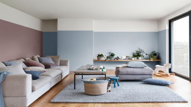 Afbeeldingsresultaat voor heartwood kleur 2018 living room in 2018