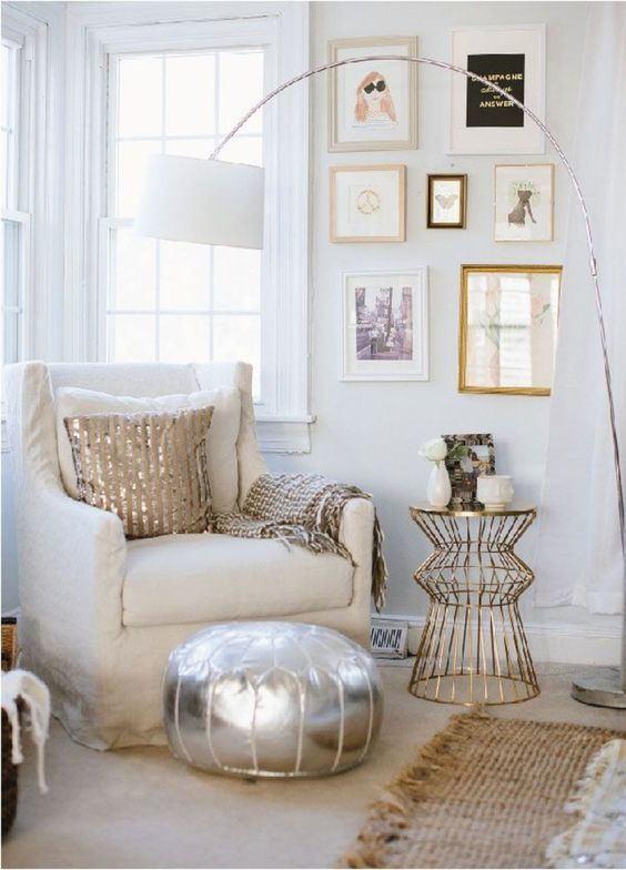 crushing on mixed metals from my blog home home decor rh pinterest com