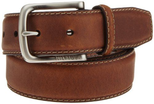 Tommy Hilfiger Men's Casual Contrasting Stitch Belt, Brown, Size 34 Tommy Hilfiger http://www.amazon.com/dp/B003X26SJY/ref=cm_sw_r_pi_dp_isbswb14Q398A