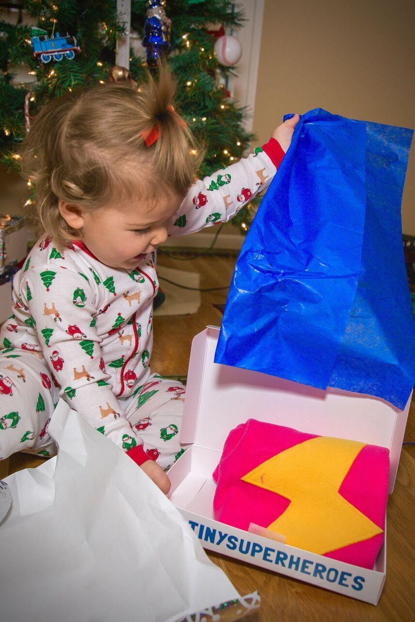 Children are waiting for their TinySuperhero cape, donate today to make their holiday wishes come true!! #TinySuperheroes