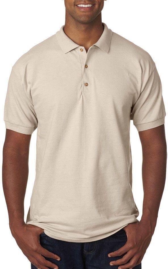 bdb34395 gildan(R) ultra cotton(R) adult pique polo - sand (s)   Products ...