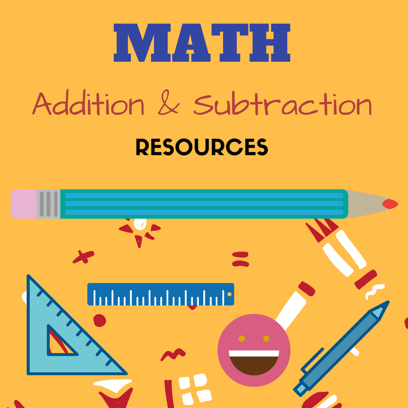 Addition and Subtraction math games, free printable worksheets ...
