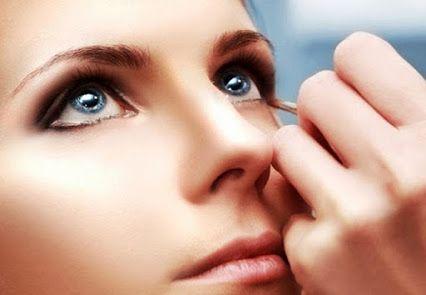 نمونه ترکیب لنز آبی رنگ با پوست روشن #لنز   #لنزرنگی   #لنزآبی