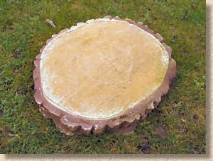 Cut Logs For Stepping Stones If You Do This Make Sure: round wooden stepping stones